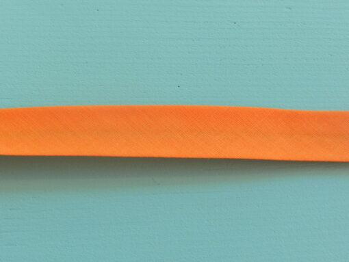 Biais uni orange clair frou frou polycoton