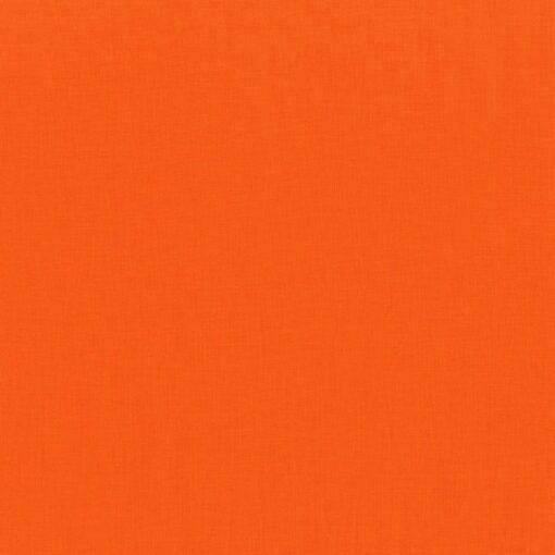 tissu uni orange michael miller 100% coton