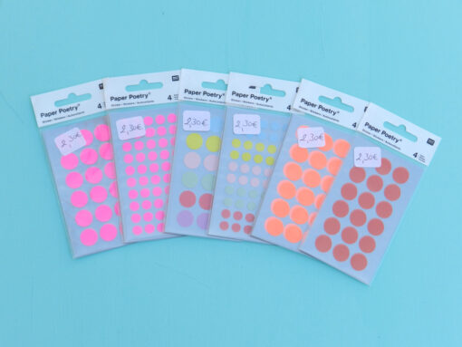 collection stickers pois rico design