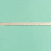 Passepoil uni argent 10 mm gros plan