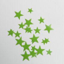 étoiles flex thermocollant vert
