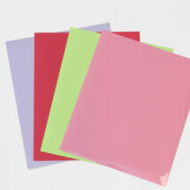Flex thermocollant fuschia-rose- violet -vert pastel