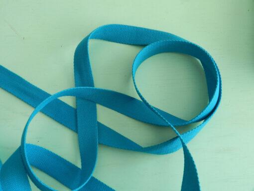 sangle coton bleu royal 30 mm