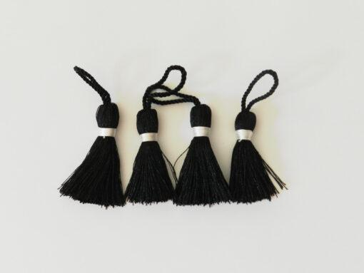 Pompons noir