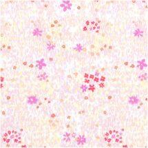 Tissu champ de fleurs fluo Rico Design 100% coton