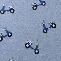 tissu sweat molleton scooter