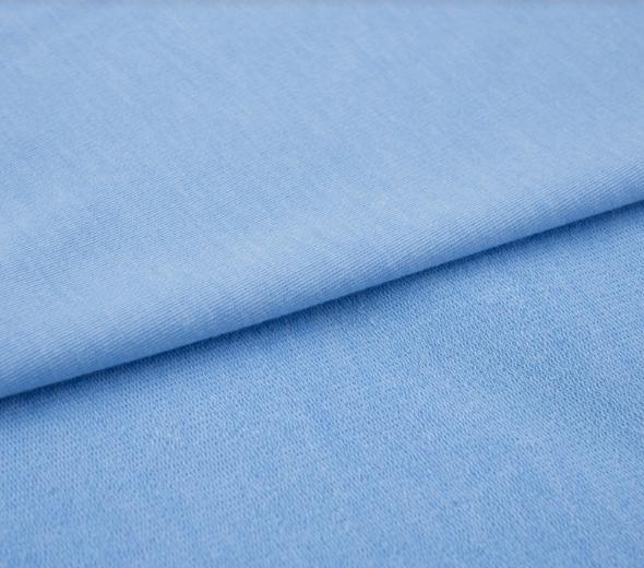 tissu sweat bleu oeko tex