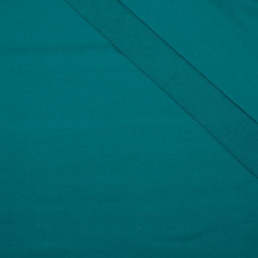 tissu sweat vert émeraude oeko tex