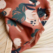Tissu Posie Chestnut atelier brunette