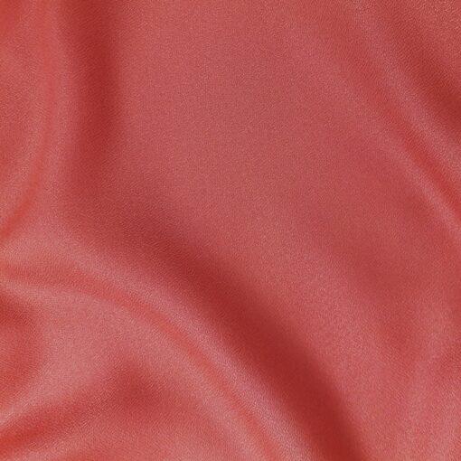 Atelier brunette tissu crêpe Terracotta