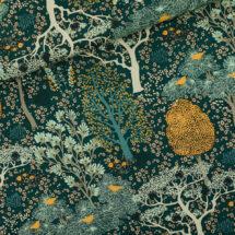 Tissu viscose oriental garden See you at six