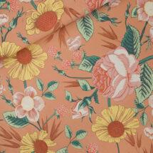 tissu sweat bloom garden see you at six