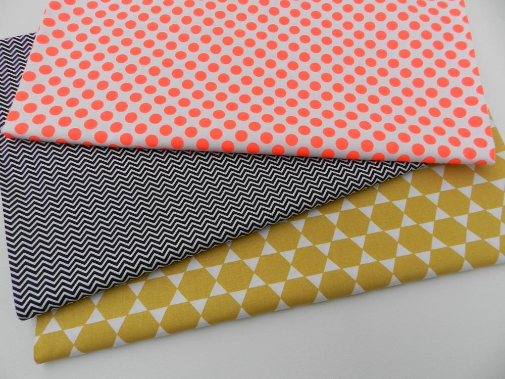 tissus moutarde et fluo rico design