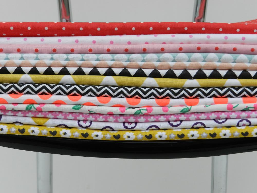 tissus rico design sur chaise