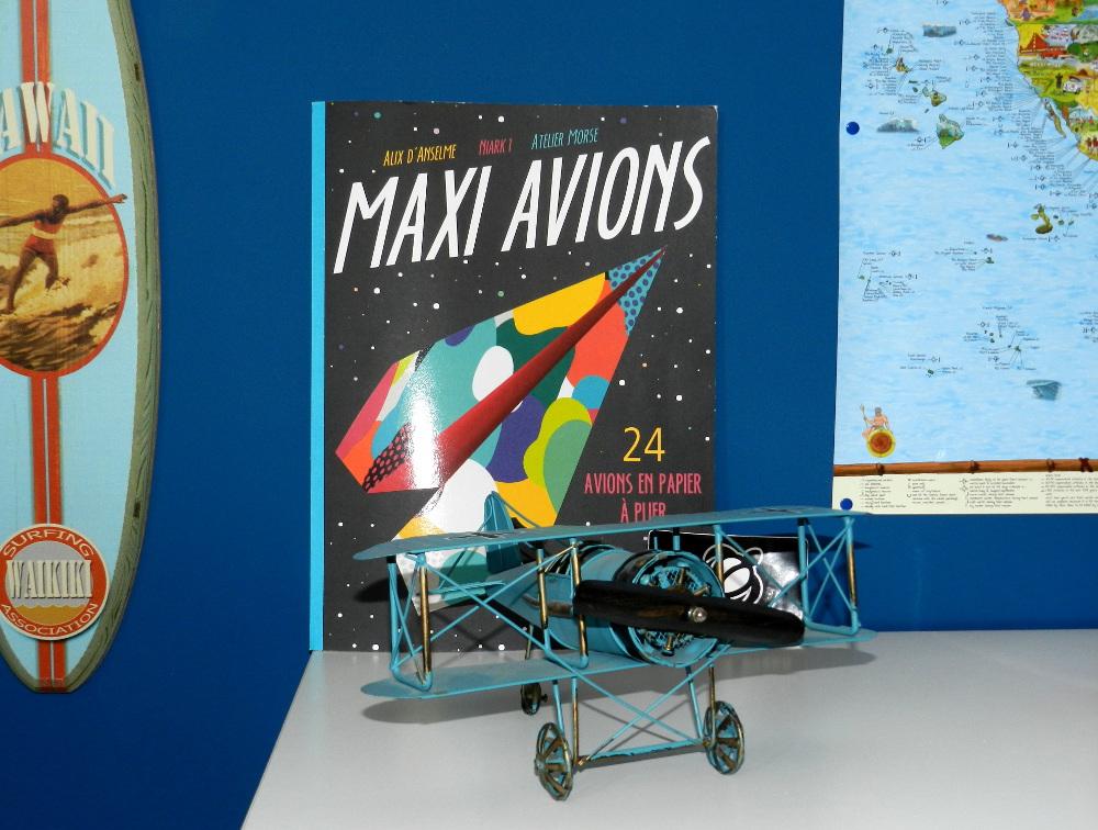 livre maxi avions Nature et découvertes