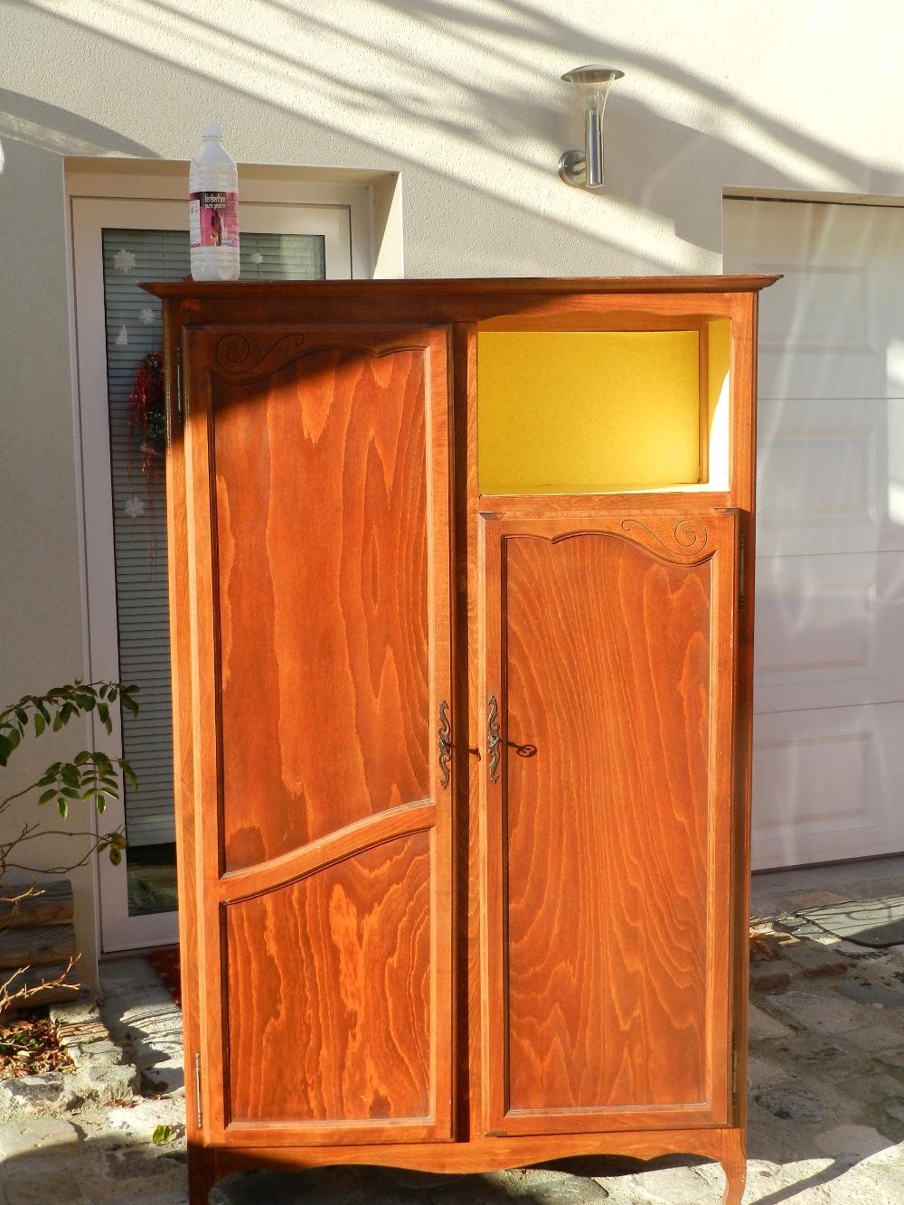 armoire avant rénovation