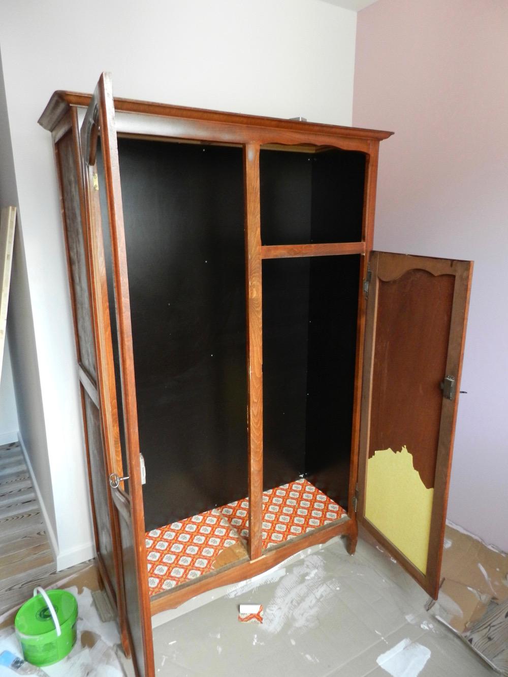 armoire en cours