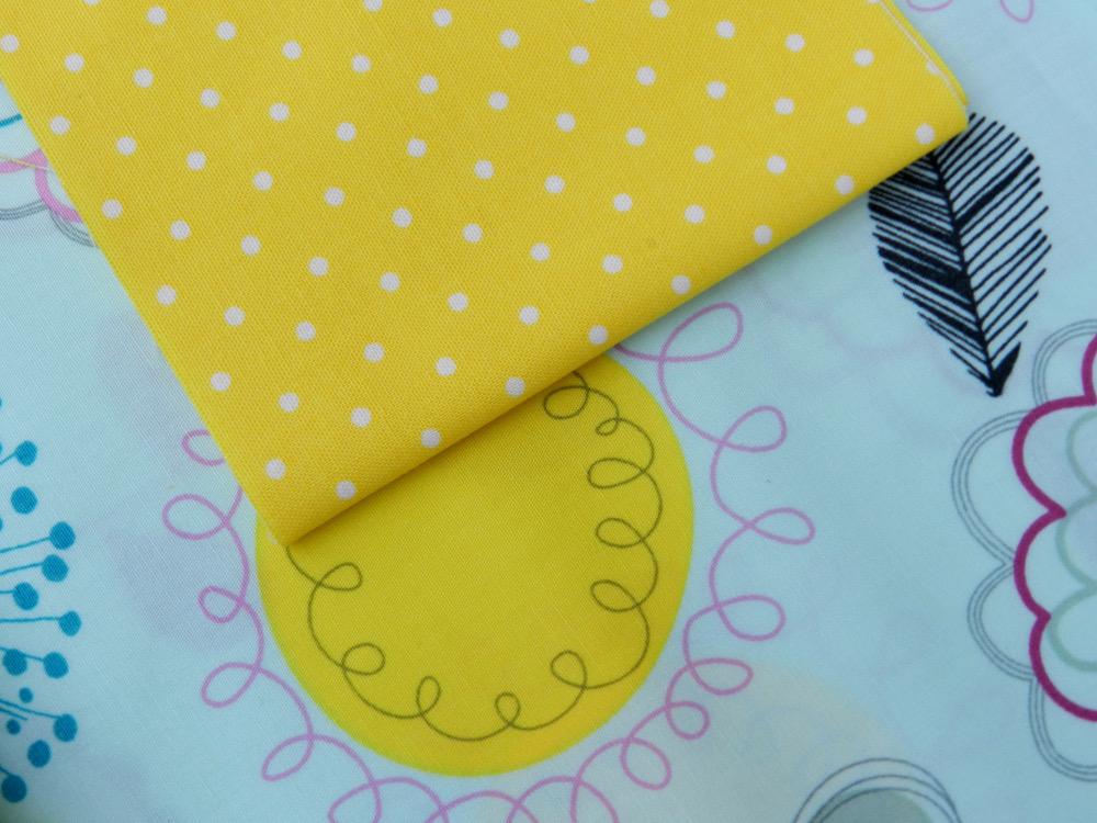 tissu floral dums gum art gallery fabric et tissu pinhead jaune michael miller