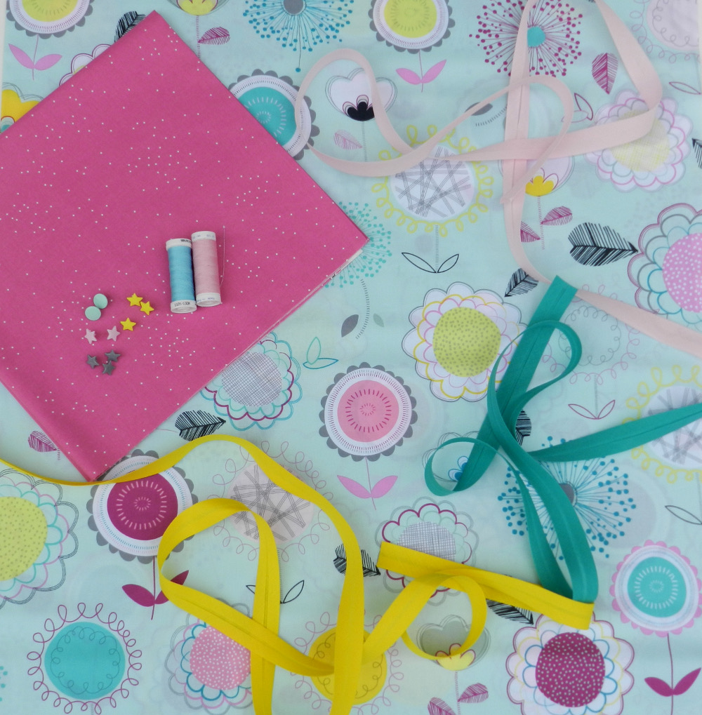 tissu floral dums gums art gallery fabric