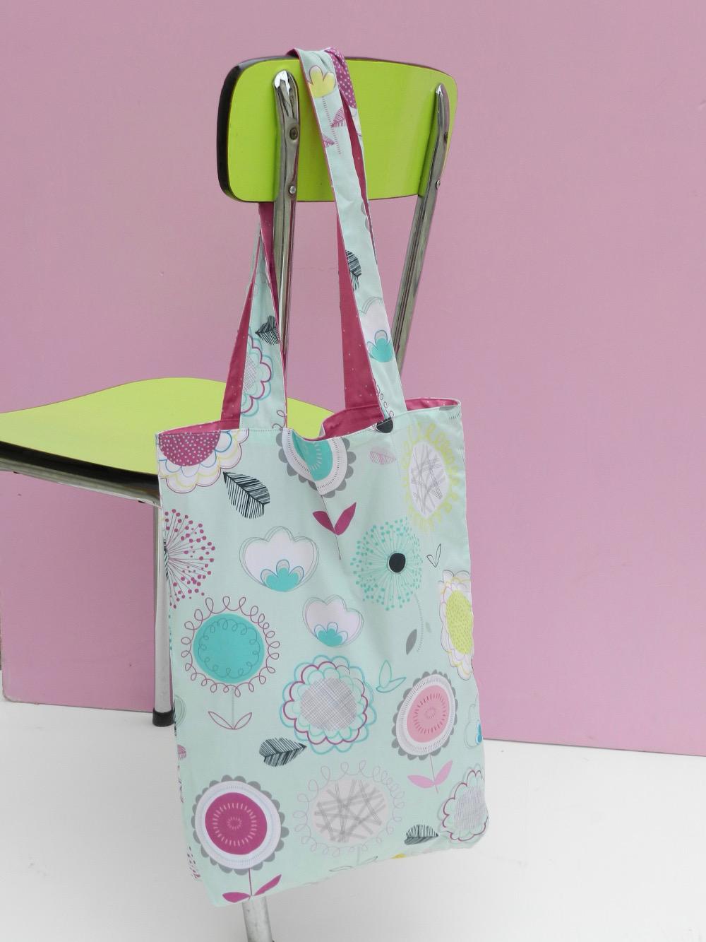 tote bag tissu floral dums gums art gallery fabric