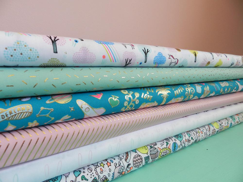 tissus rico design collection wonderland 100% coton